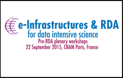ETP4HPC at e-Infrastructures & RDA for data intensive science Workshop in Paris