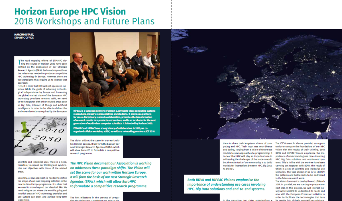 Doe Issues 39th Annual Report To >> Etp4hpc S 2018 Annual Report Is Available Etp4hpc