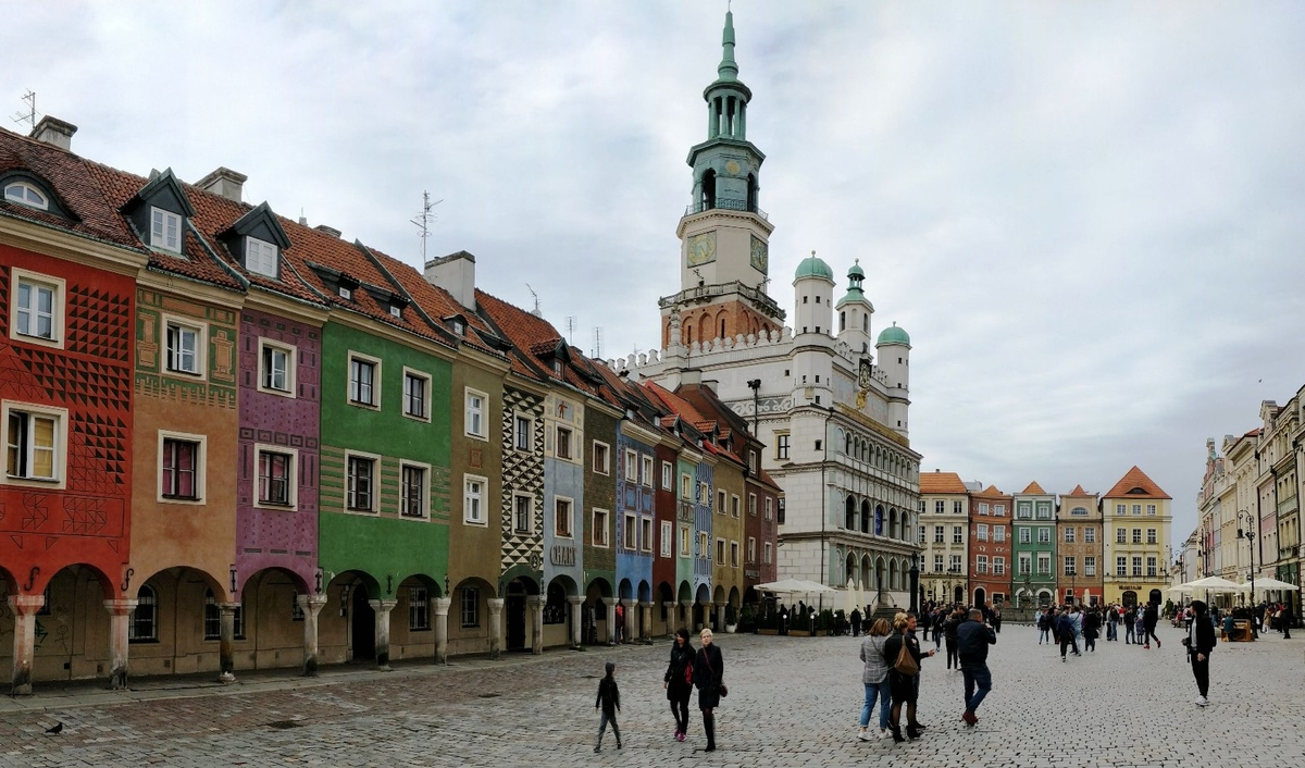The Old Square in Poznan